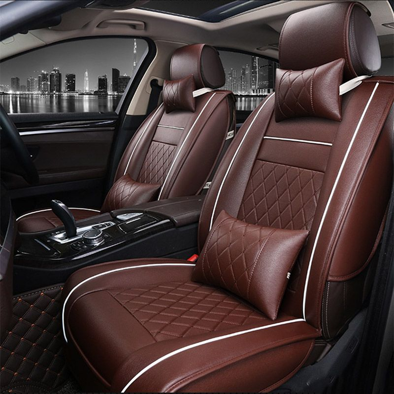 Universal PU Leather Car Seat Cover For Acura All Models MDX RDX ZDX - Acura rdx seat covers