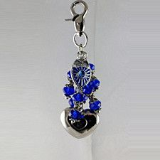 Police Themed Purse Light by Diva Dangles