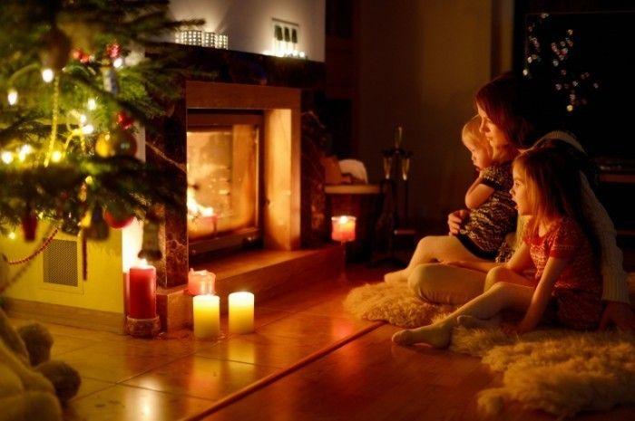 Картинки по запросу фото у камина | Камин, Новый год ...