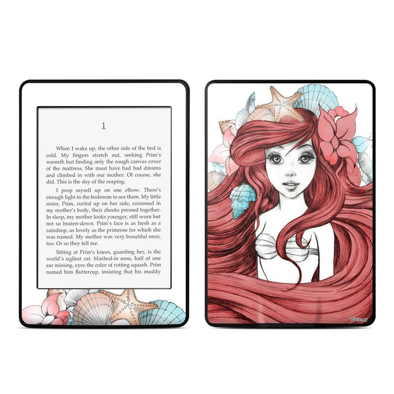 Amazon kindle paperwhite skin under the sea by disney princess