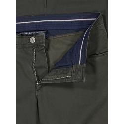 Photo of Pantaloni 5 tasche dalla struttura minimale, Cadiz, Straight Fit di Eurex in abete per uomo Brax