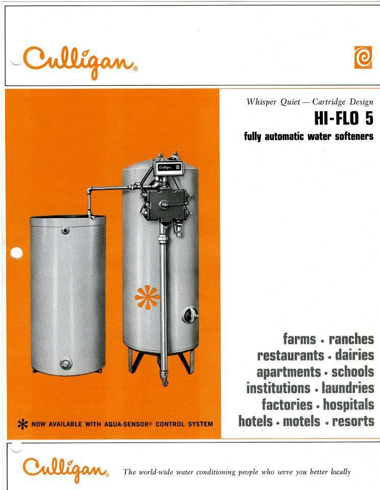 Culligan Culligan Water Softener Retro Ads
