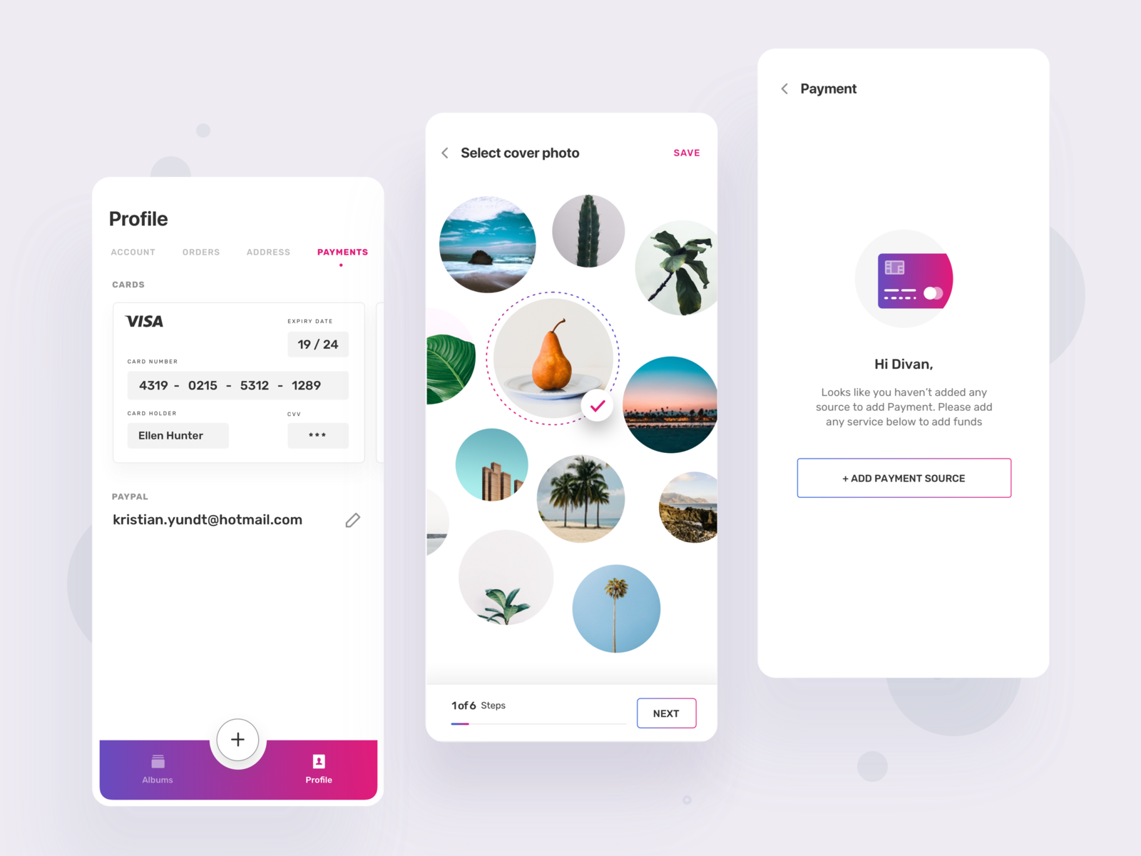 Photo Album App Photo Album App Photo Apps Web App Design