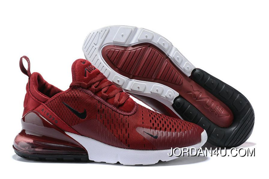 Nike Air 270 Nike Air Max 270 Wine Red Black White Copuon Price 90 59 Discount Jordan Shoes Free Shipping Worldwide Nike Air Max Sneakers Men Fashion Nike