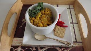 Garbanzo Bean and Cauliflower Curry Recipe