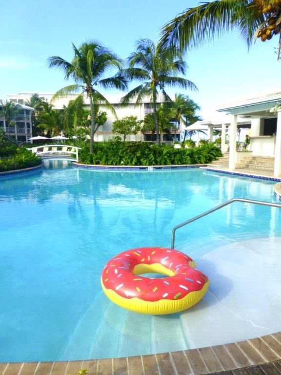 Love relaxing in the lazy river pool at Ocean Club West
