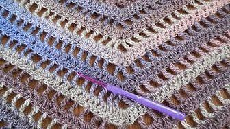 Sjaal Haken Nederlands Youtube Video Tutorial Crochet Shawl