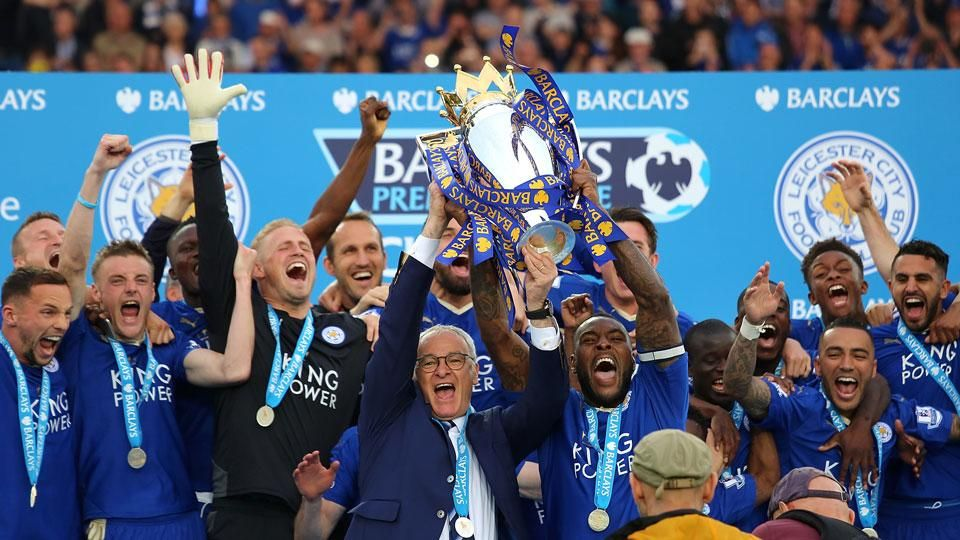 Best moments from Leicester's title celebration   Leicester city, Leicester  city premier league, Leicester city football