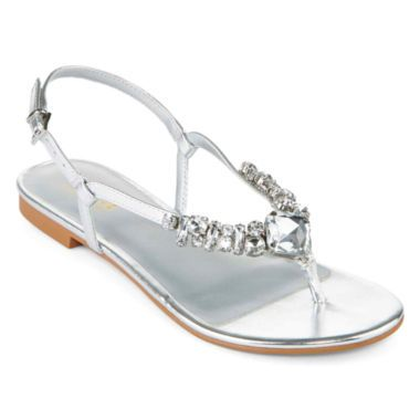 c8923182a9fe8 a.n.a® Janice Embellished Thong Sandals found at  JCPenney