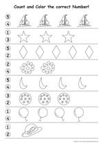 Preschool Worksheets 3 Year Olds 16 Worksheets Coloring In 8