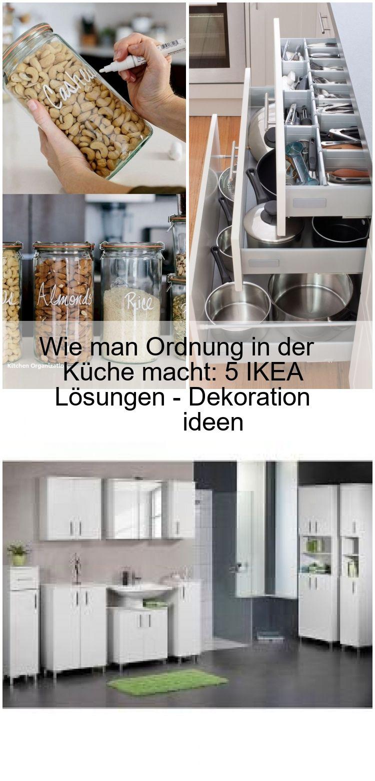 Wie Man Ordnung In Der Kuche Macht 5 Ikea Losungen Dekoration Ideen In 2020 Ordnung In Der Kuche Kuche Ablage Ikea