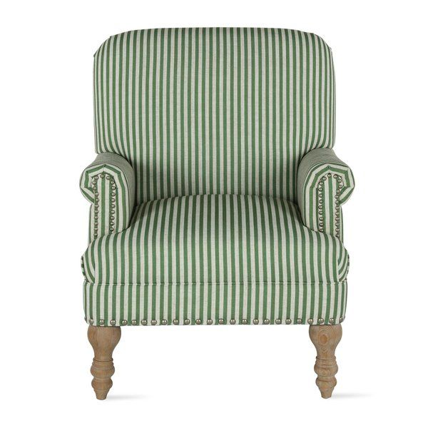 Neymar 29 13 W Polyester Armchair Armchair Accent Chairs Striped Upholstery