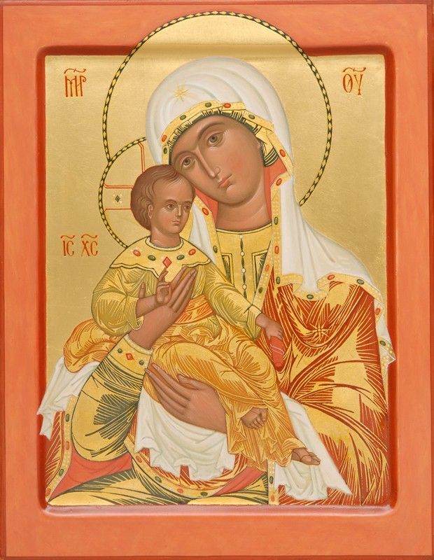 It Is Truly Meet icon of the Mother of God