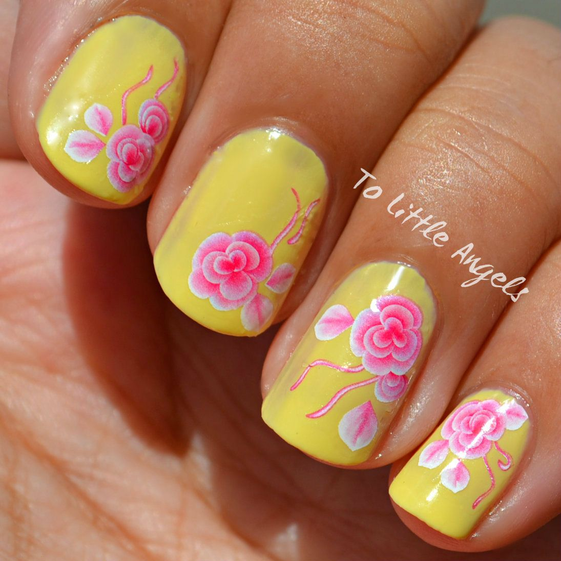 nail #art #water #decal #sticker #ToLittleAngels #ebay #store ...