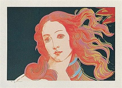 Andy Warhol, Details of Renaissance Paintings: Birth of Venus (FS.II.316), 1984 Screenprint on Arches Aquarelle (Cold Pressed) paper, 32 x 44 in (81.3 x 111.8 cm) Signed and numbered in pencil lower left. Edition of 70