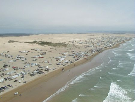 Pismo Dunes California A Aerial Shot That Only Gives You Glimpse Beach