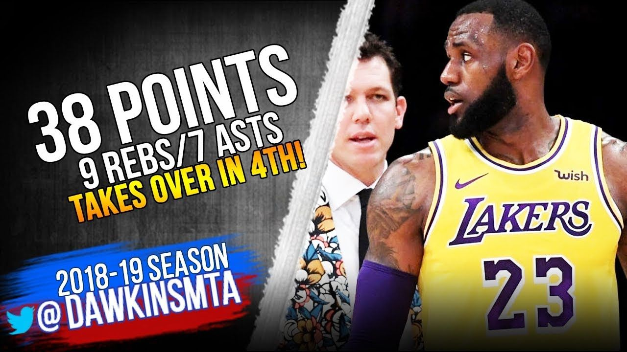 LeBron James Full Highlights 2018.11.29 Lakers vs Pacers ...