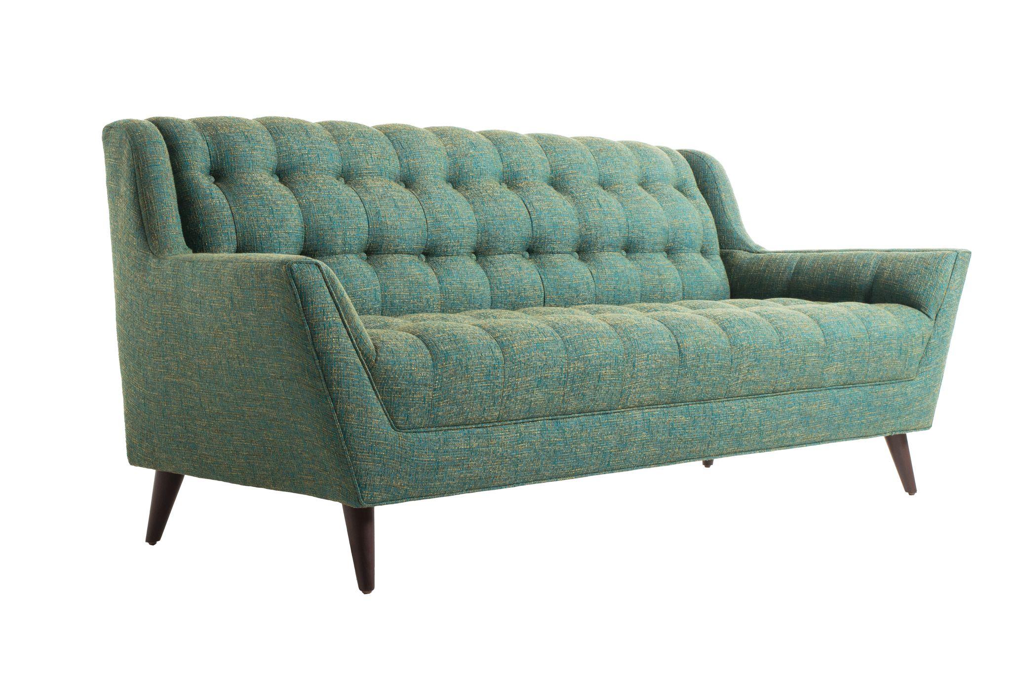 Fitzgerald Sofa in Cordova Turquoise