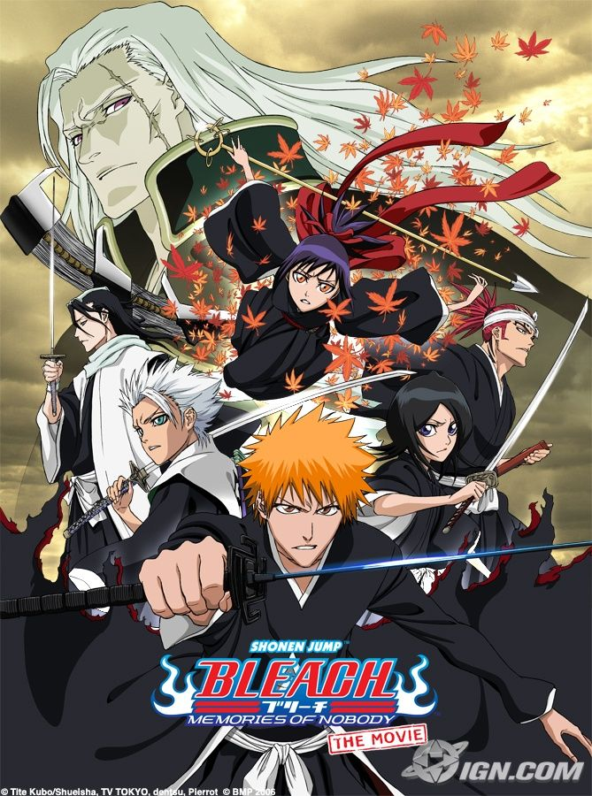 Memories of nobody Bleach Movie (2006) Anime bleach