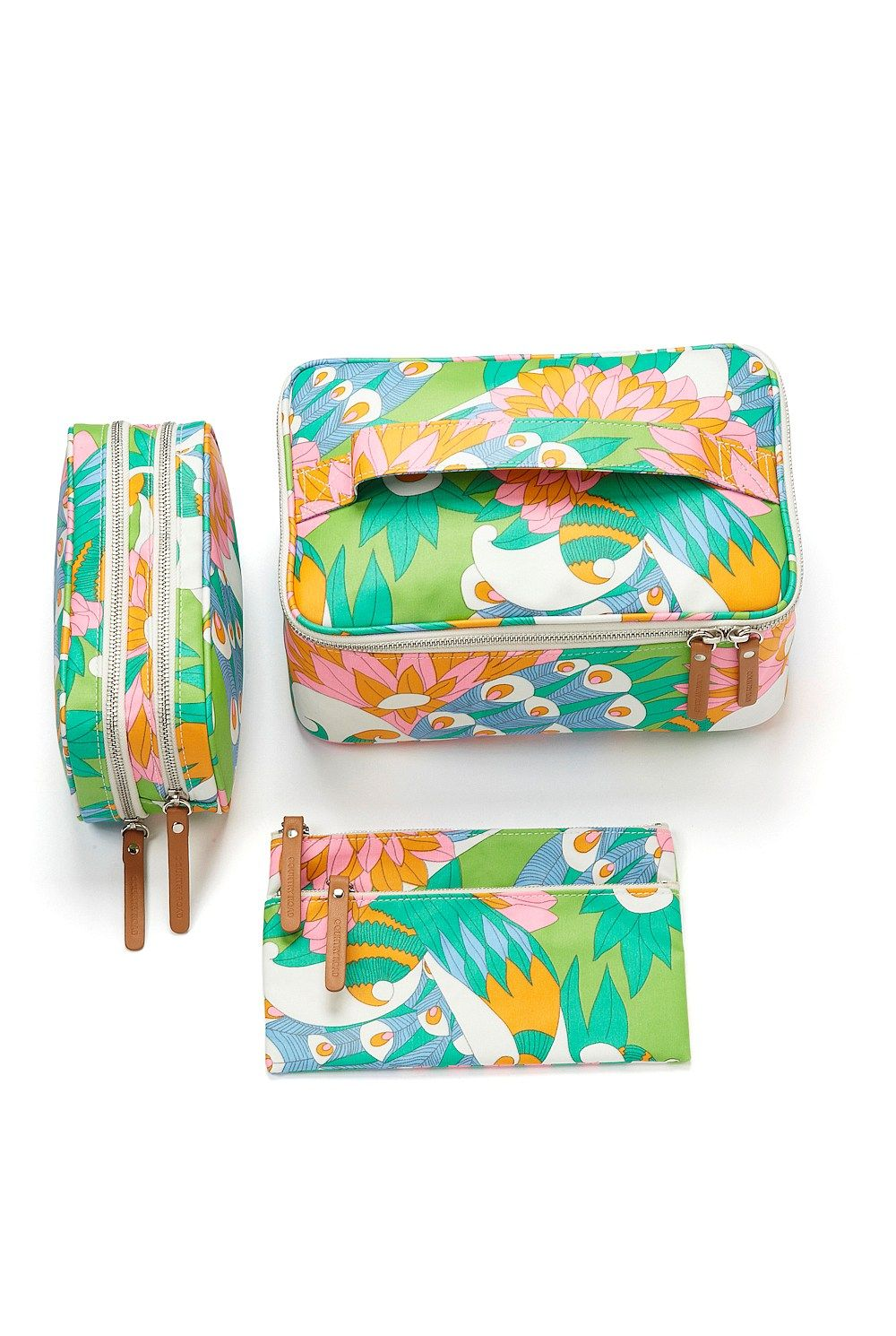 Country Road Makeup & Cosmetic Bags Online Small Retro