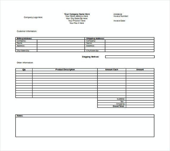 Free Word Invoice templates , Templates for Invoices , How to make - simple invoice form