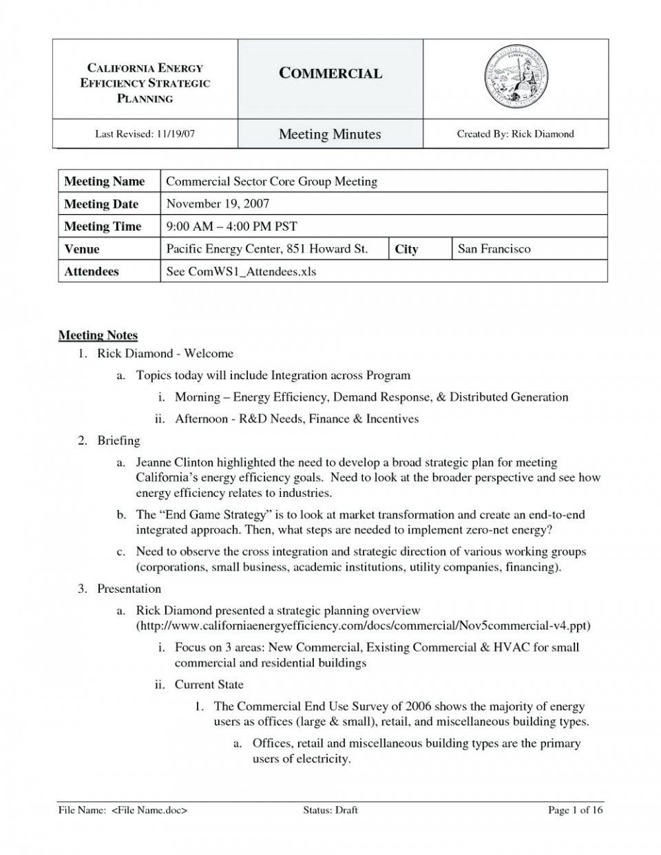 018 Meeting Minutes Template Free Board Download Corporate With Regard To Corporate Minutes Templ Meeting Notes Template Meeting Minutes Template Meeting Notes