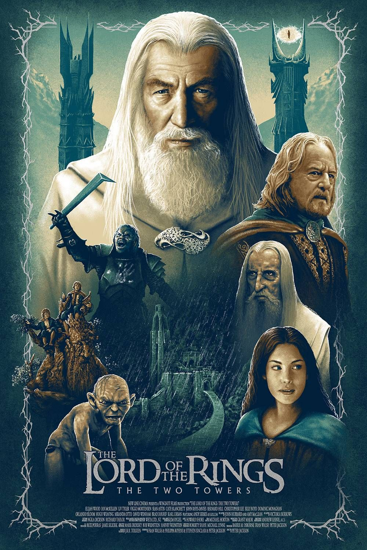 Le Seigneurs Des Anneaux 2 : seigneurs, anneaux, Rings:, Towers, Seigneur, Anneaux,, Hobbit,, Elfes, Fantastiques