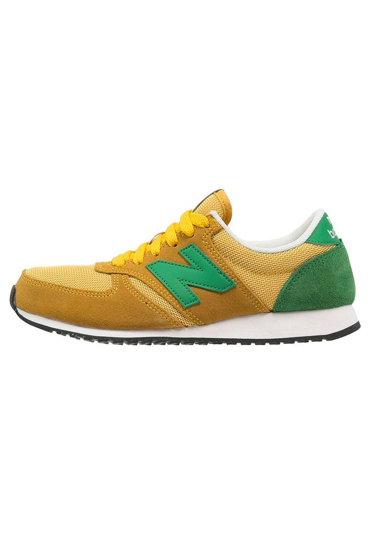 New Balance U420 - Zapatillas - yellow/green - Zalando.es