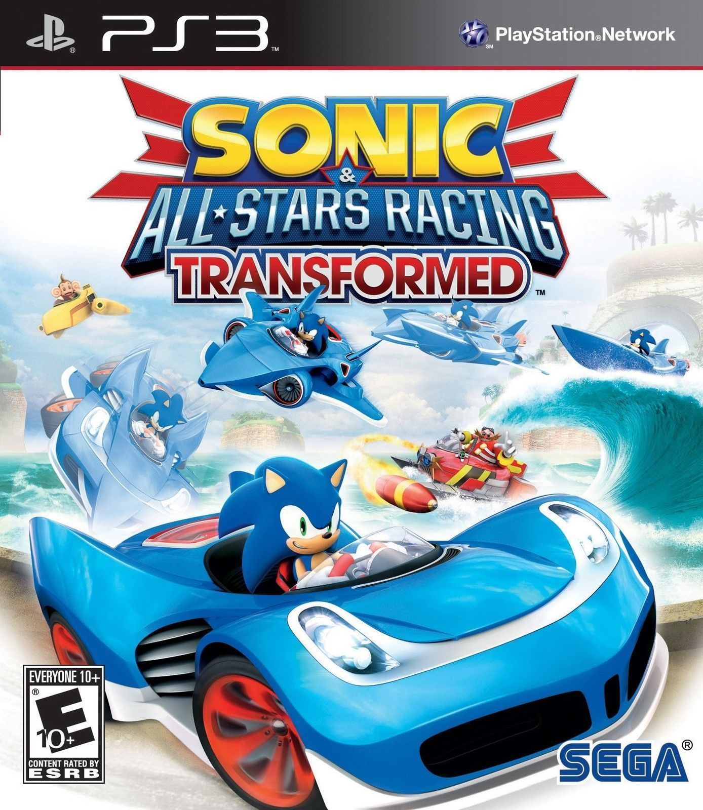 Details about Sonic & AllStars Racing Transformed