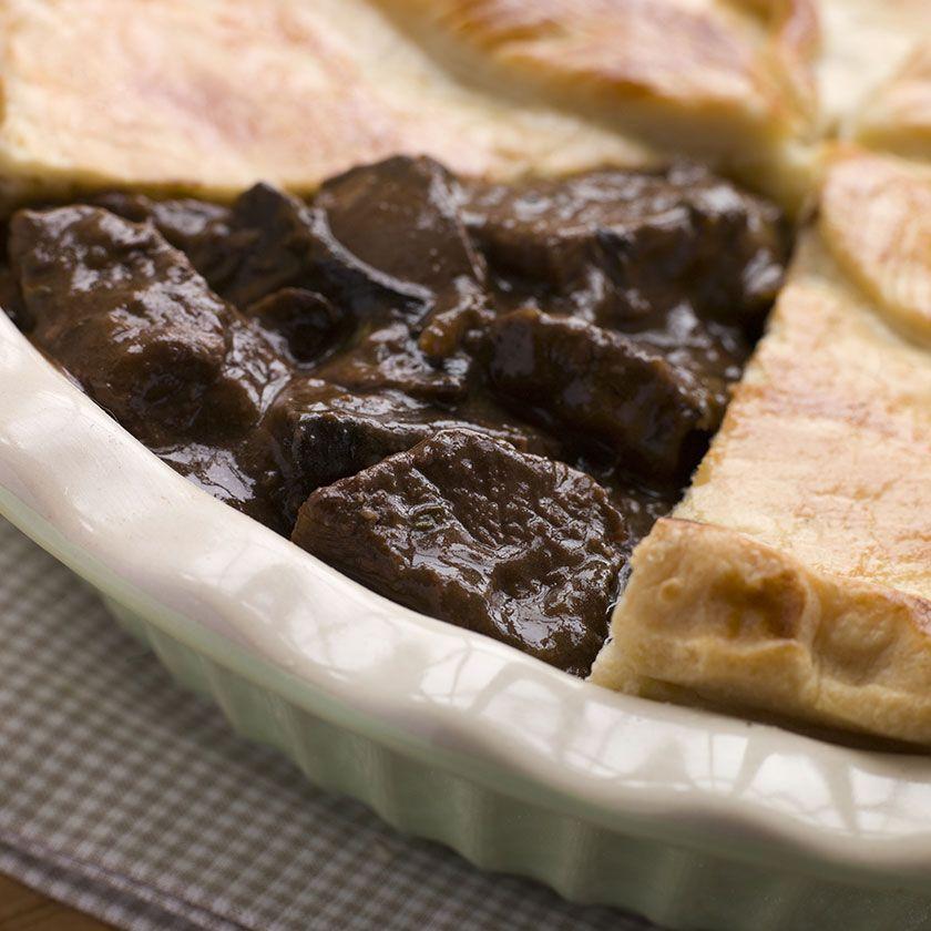 Steak & Mushroom Pie | Recipe | Steak, ale, Beef, guinness ...