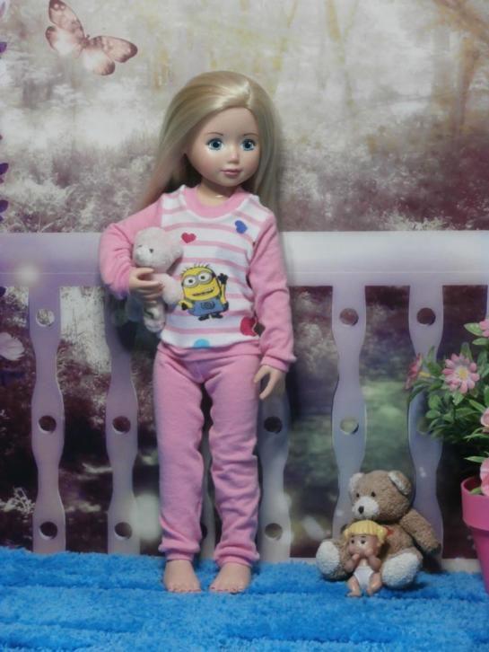 Jolina ballerina, herfst/winter pyjama!