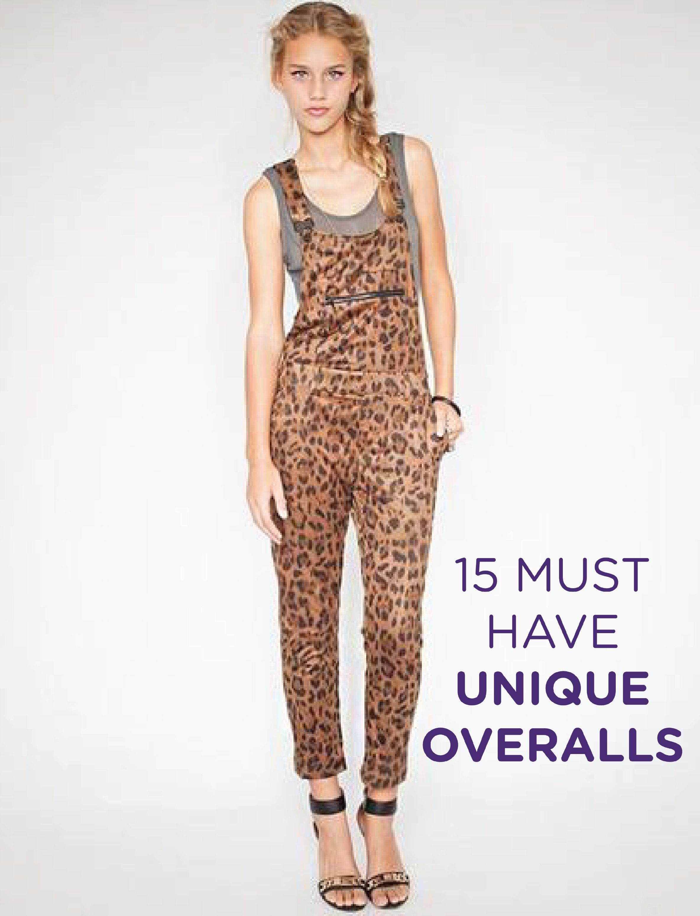 15 Pairs of Truly Unique Overalls to Rock ThisSpring
