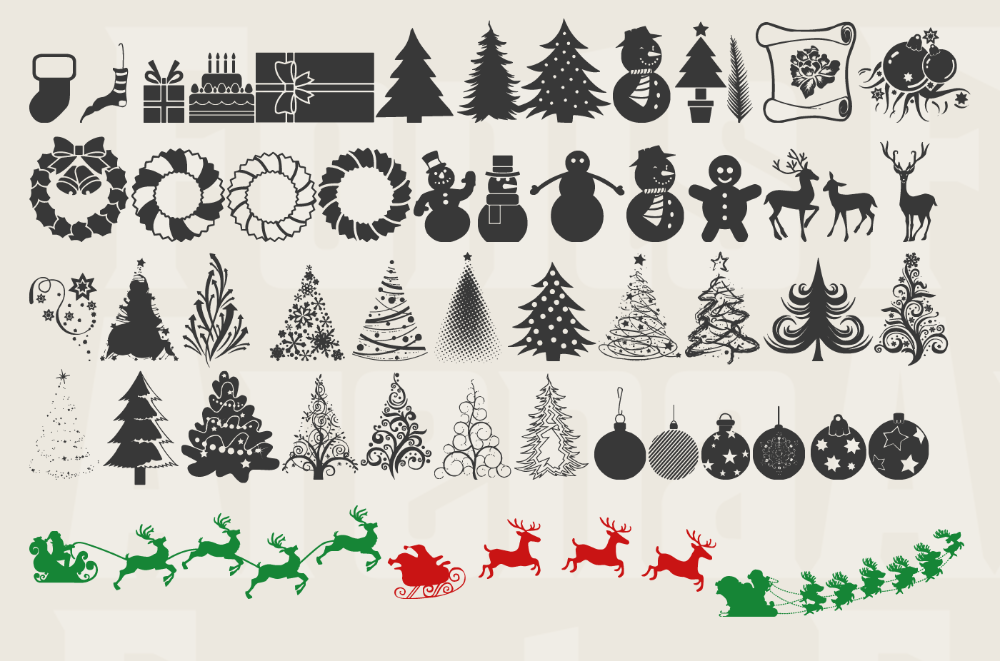 11 Christmas icon fonts free for commercial use in 2019