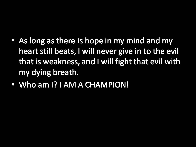 I Am A Champion Motivational Lyrics Motivation Lyrics I Will Fight