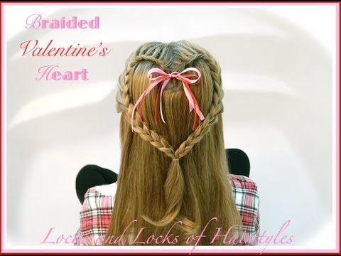 Stupendous How To Do Lovely Heart Braid Hair Style Step By Step Diy Tutorial Hairstyles For Men Maxibearus