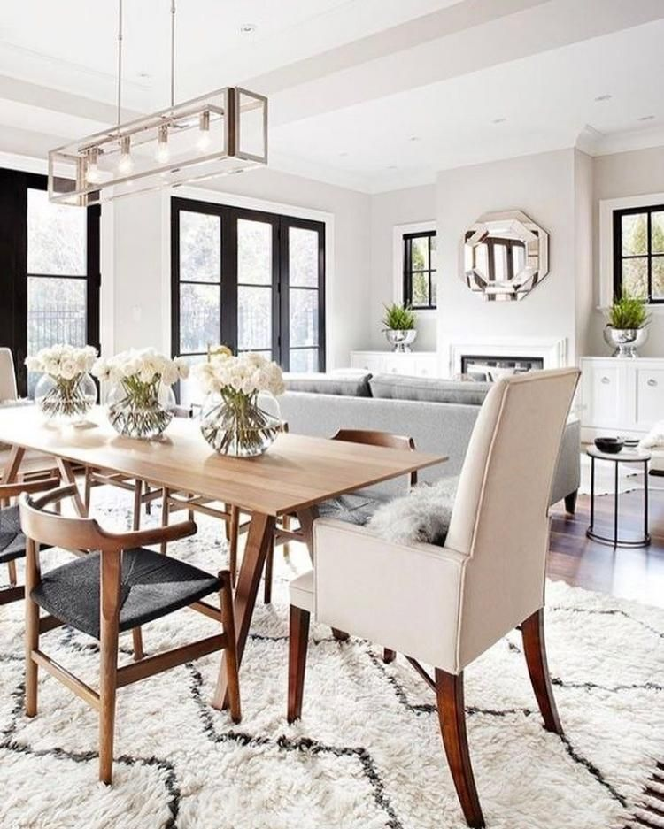 Decorate Living Room And Dining Room Combo: Creative Living Room Dining Room Combo Ideas