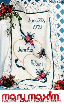 Wedding Sampler Afghan Pattern | Crochet Afghans etc  | Afghan
