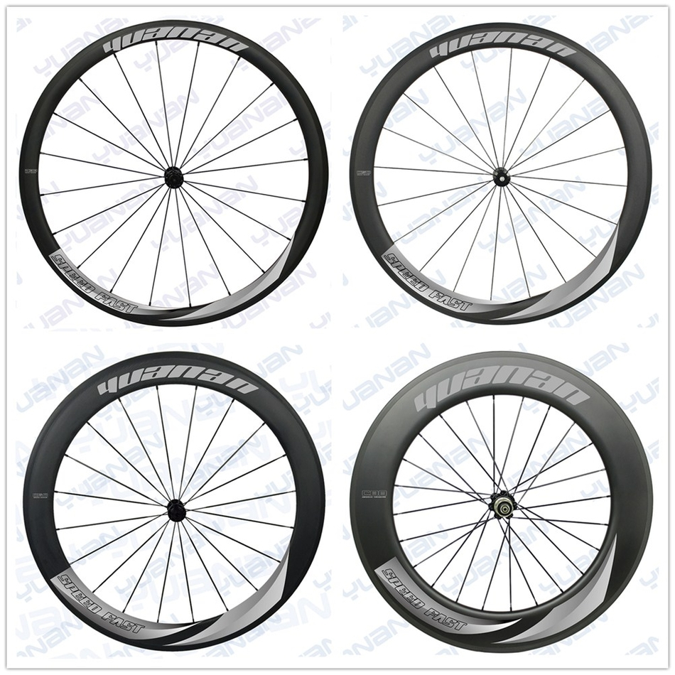 547.00$  Buy now - http://ali5pf.worldwells.pw/go.php?t=32676544478 - 2017 Powerway R51 And Pillar 1420 light weight Spoke ceramic bearing hub 700c carbon wheelset for cyclingyong 547.00$