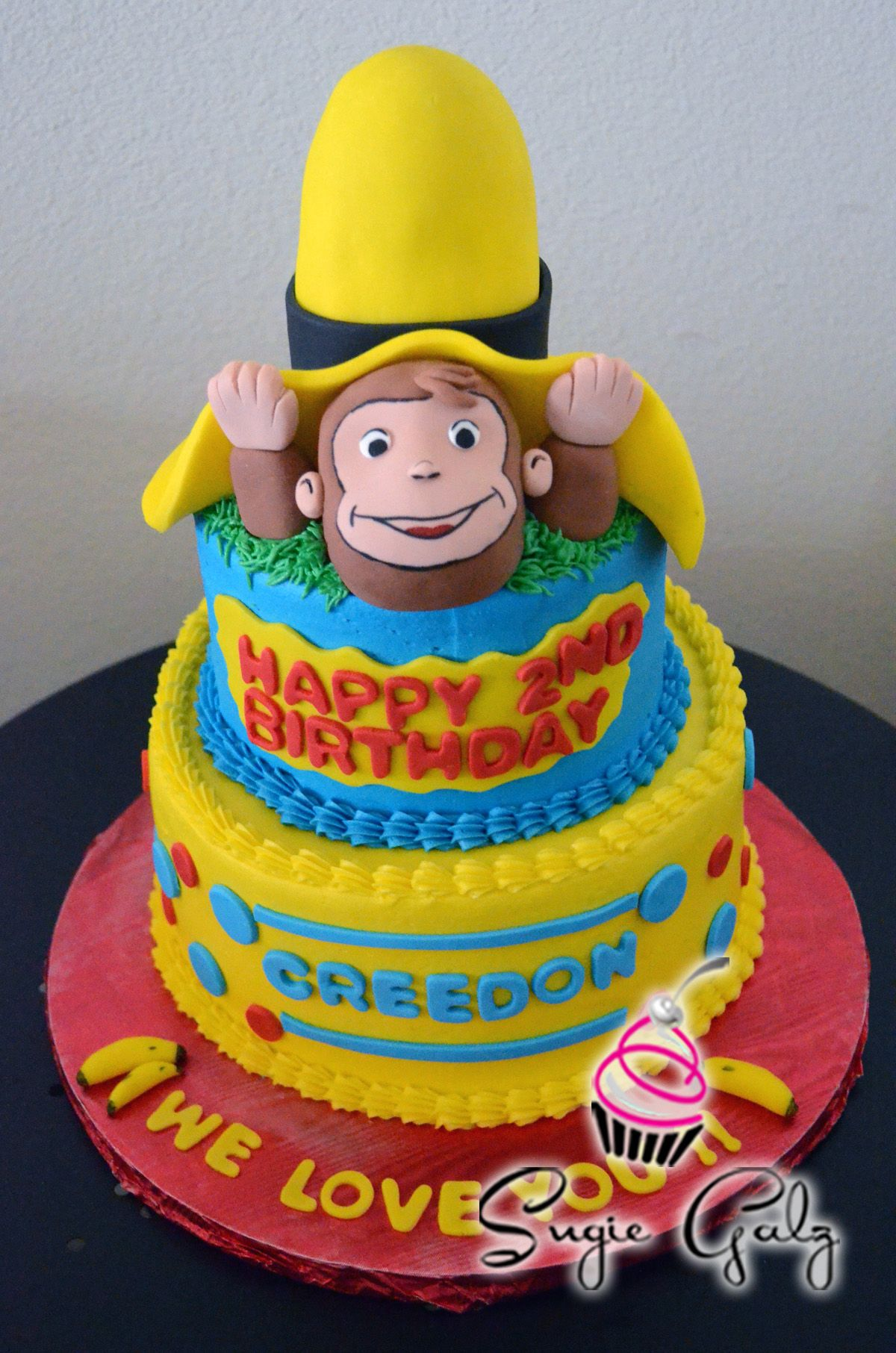 Curious George Birthday Cake By SugieGalz In Austin Texas