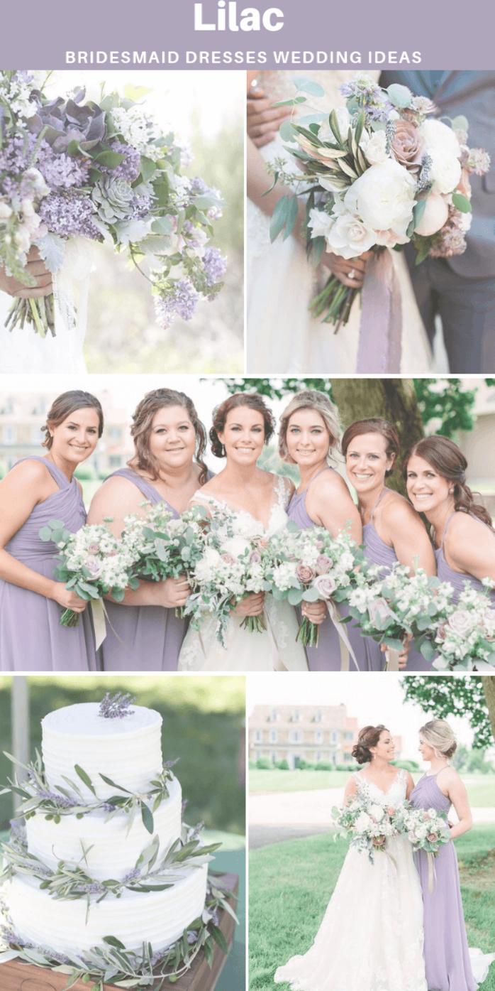 Lilac Bridesmaid Dresses Short And Long 500 Custom Made Styles