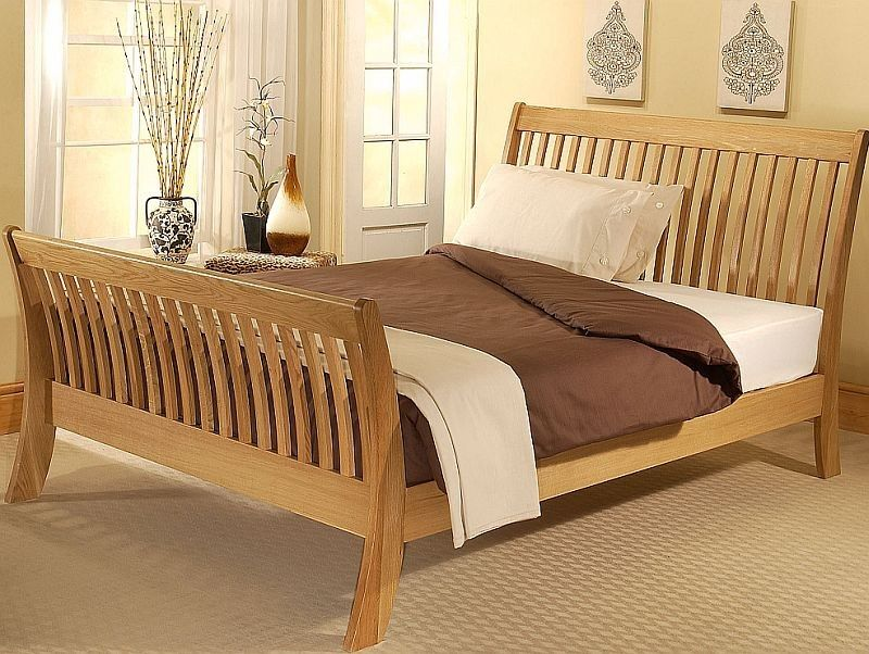 Bright And Trendy Gray And Blue Bedroom Ideas Oak Bed Frame