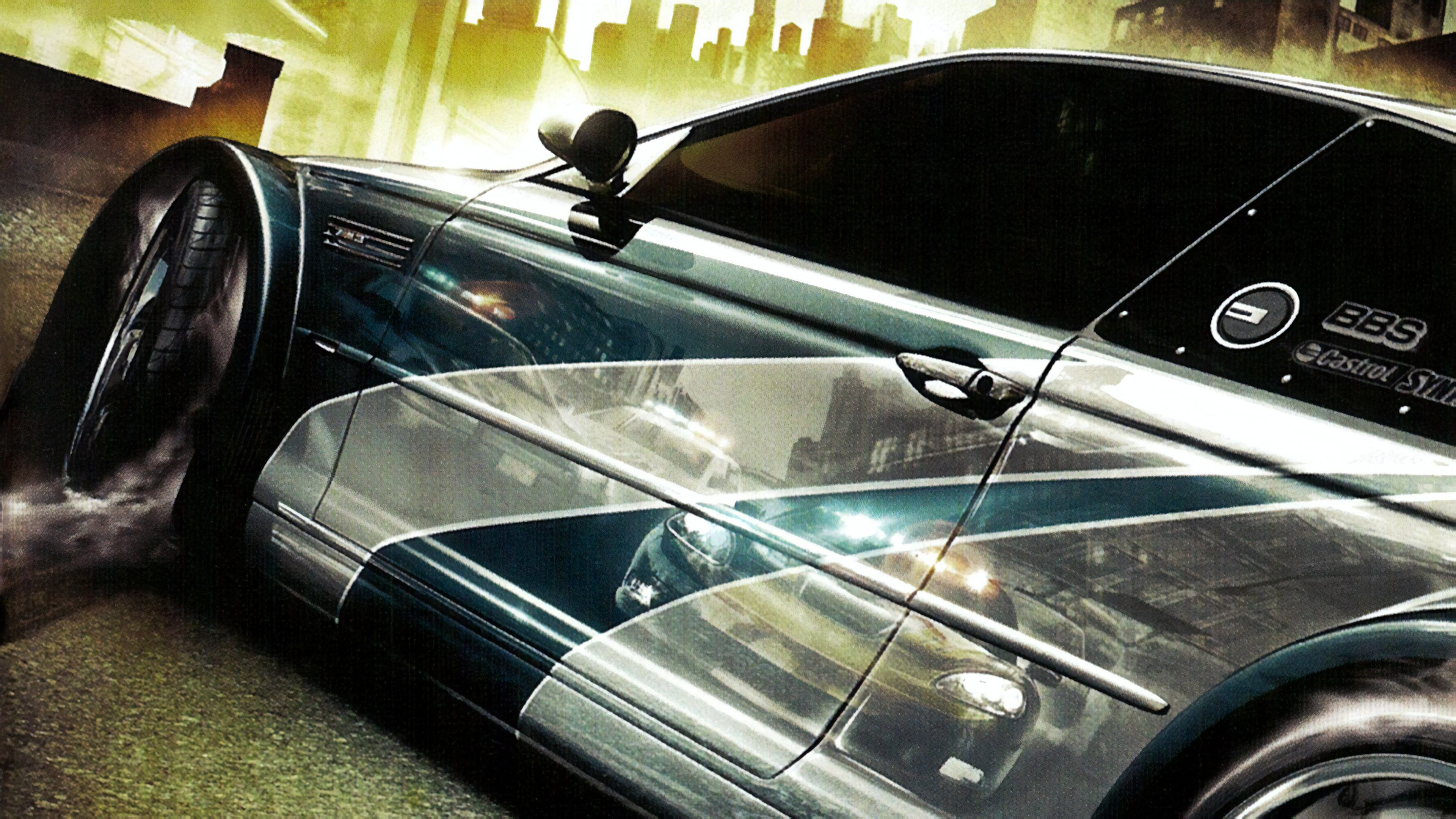 Need For Speed Most Wanted 3840x2160 Adobe Photoshop
