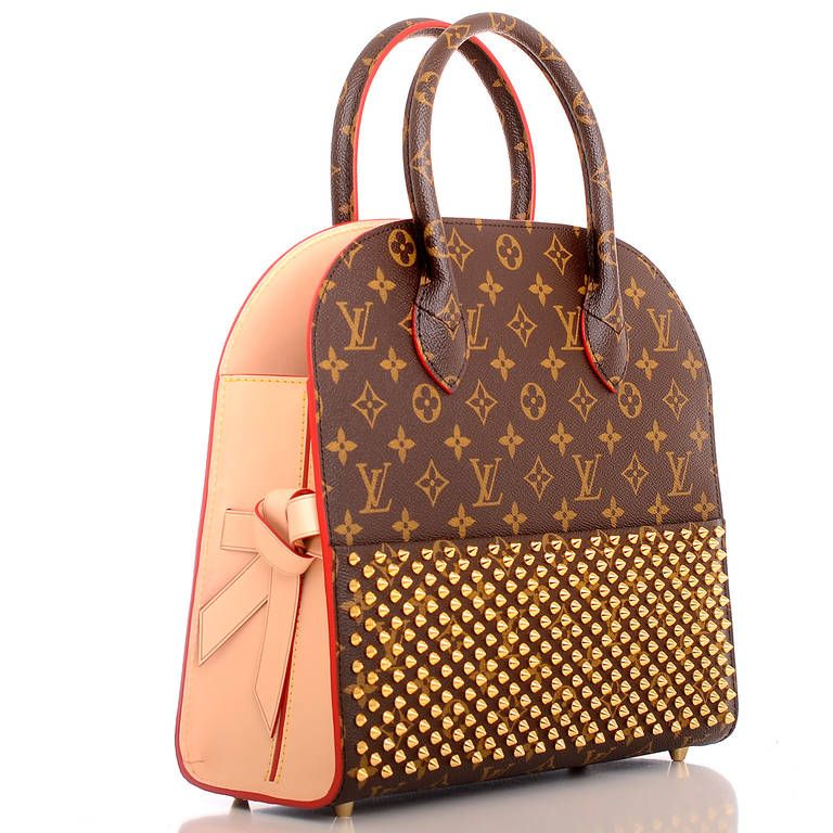 35c1d177a5a2 Louis Vuitton - Monogram Iconoclasts Christian Louboutin Shopping Bag YES I  WOULD PAY  15