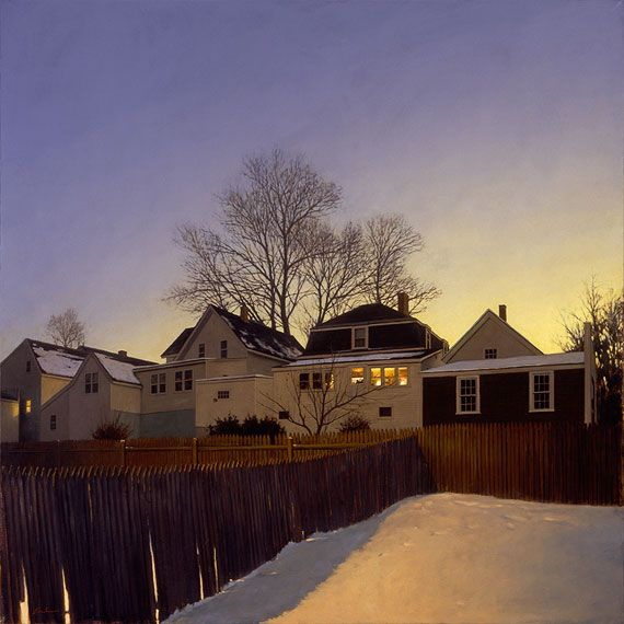 Linden Frederick Grew Up In Upstate New York And Studied Art At