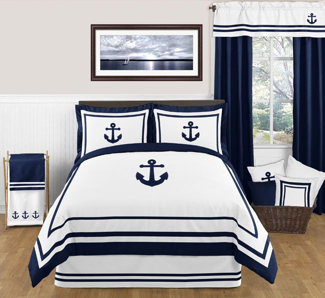 Nautical Bedding Sets, Nautical Bed In A Bag Queen