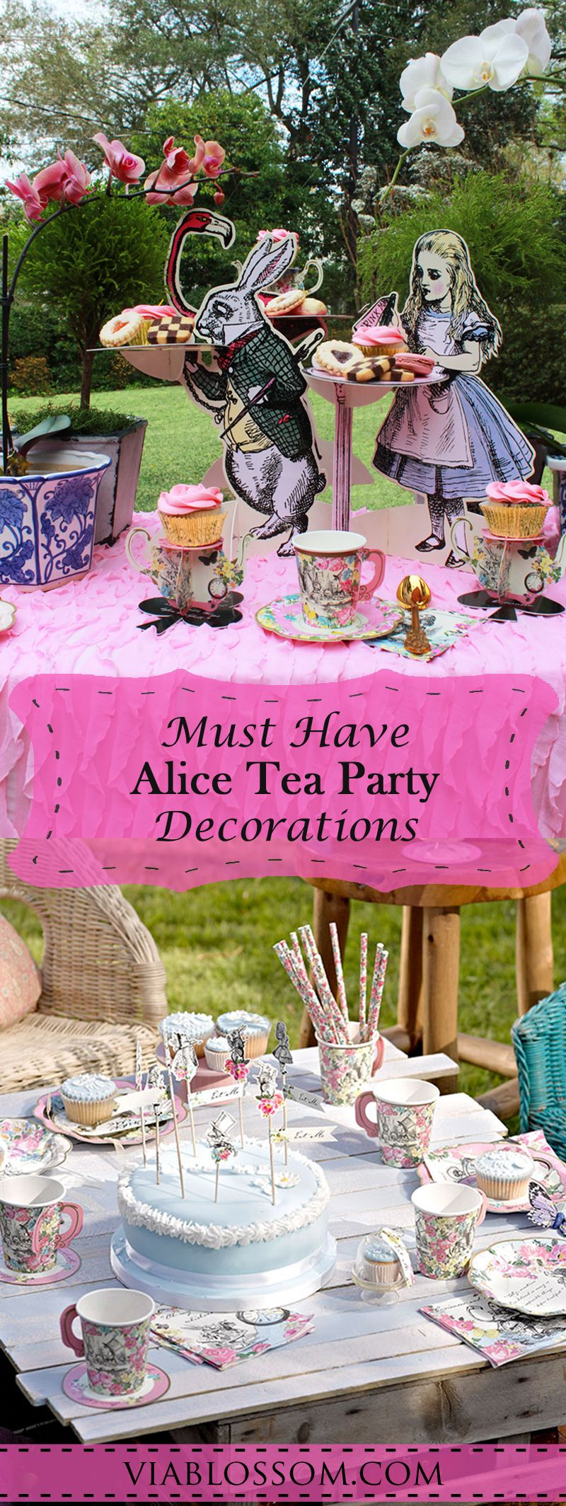 Mad hatter tea party decoration ideas - Mad Hatters Tea Party You Will Love Our Top Alice In Wonderland Tea Party Decorations And Ideas They Are