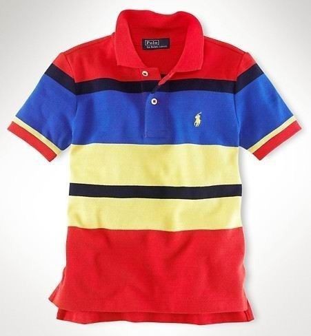 Men's Ralph Lauren Polo Classic-Fit Multi-Striped In Red,#polo shirts