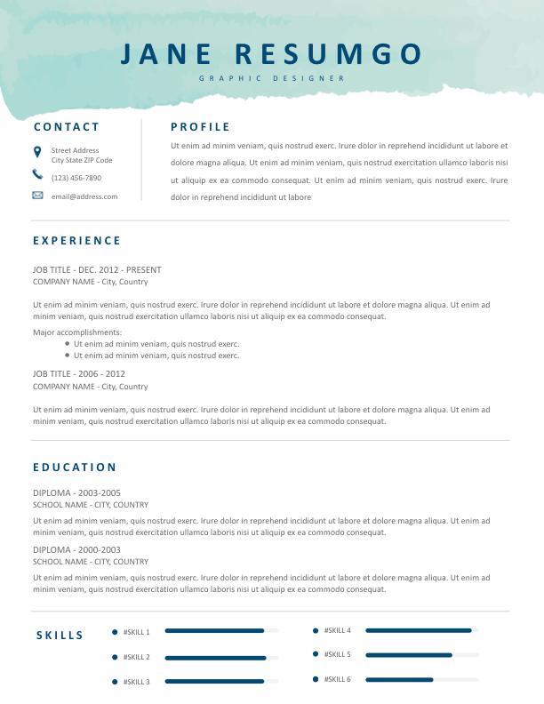 Best Resume Templates 2020 Google Docs