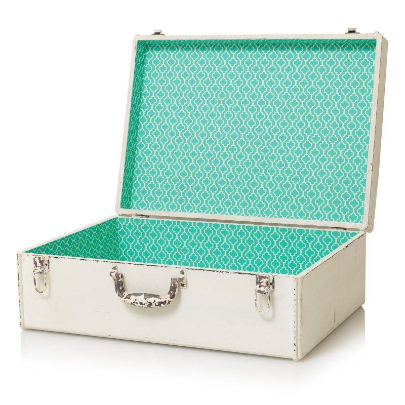Superb Decorative Storage Suitcase | Homeware | Oliver Bonas