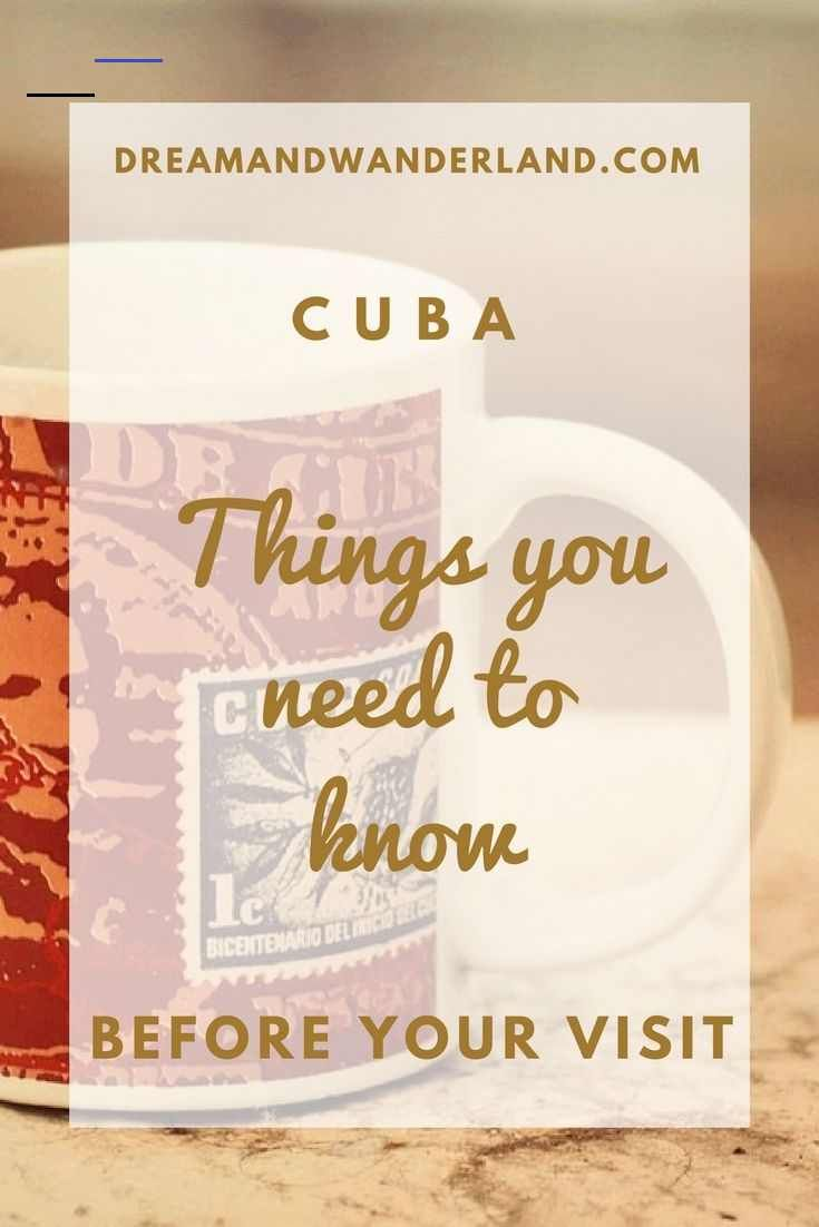10 essential things you need to know before visiting cuba